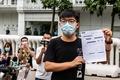 香港、民主活動家の黄之鋒氏を逮捕 2019年の「違法集会」理由に