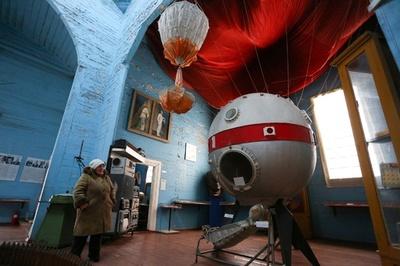 旧ソ連時代に教会から転用、ウクライナの宇宙博物館 正教会と決別で今後は?