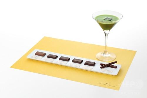 「ラ・メゾン・デュ・ショコラ」抹茶とショコラのマリアージュを楽しめる限定メニュー