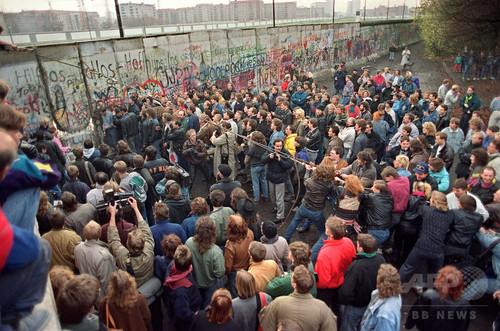 崩壊 壁 ベルリン の