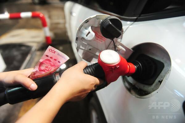 中国内の石油製品価格、今年8回目の値上げか