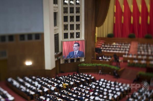 中国で全人代開幕、李首相が汚染対策重視を明言