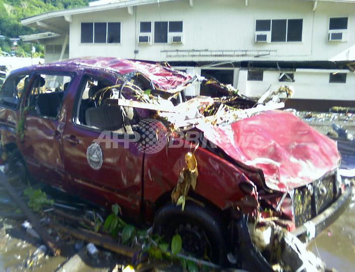 サモア沖地震、死者113人に