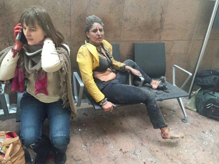 写真特集】ブリュッセル連続テロ、発生直後の現場 写真25枚 国際 ...