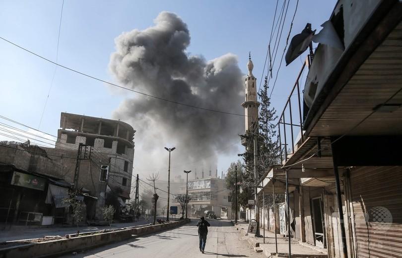 ロシア、東グータ空爆を否定 死者300人超、安保理会合へ