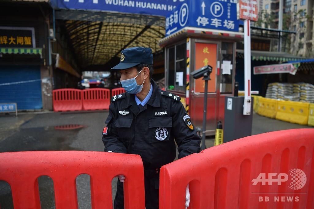 中国新型ウイルス、中心地外で死者2人目 8都市封鎖