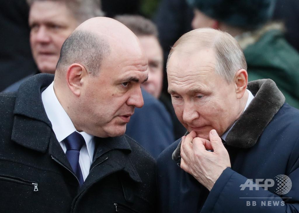 ロシア首相、新型コロナ感染 国内感染者10万人超える