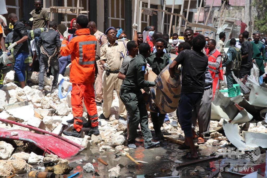 ソマリアの市場に車爆弾、9人死亡 イスラム過激派が犯行声明