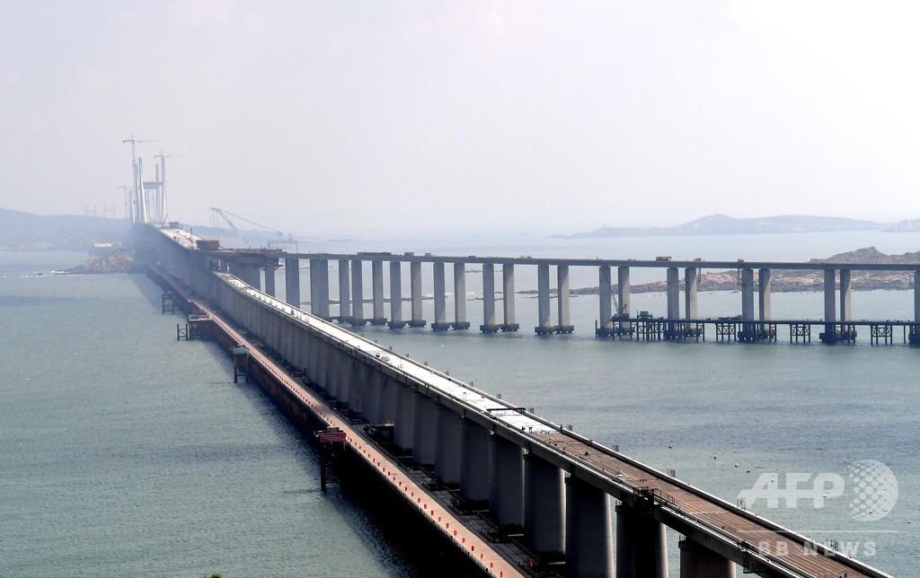 「橋の国」中国、世界最高難易度の海峡大橋開通で改めて証明
