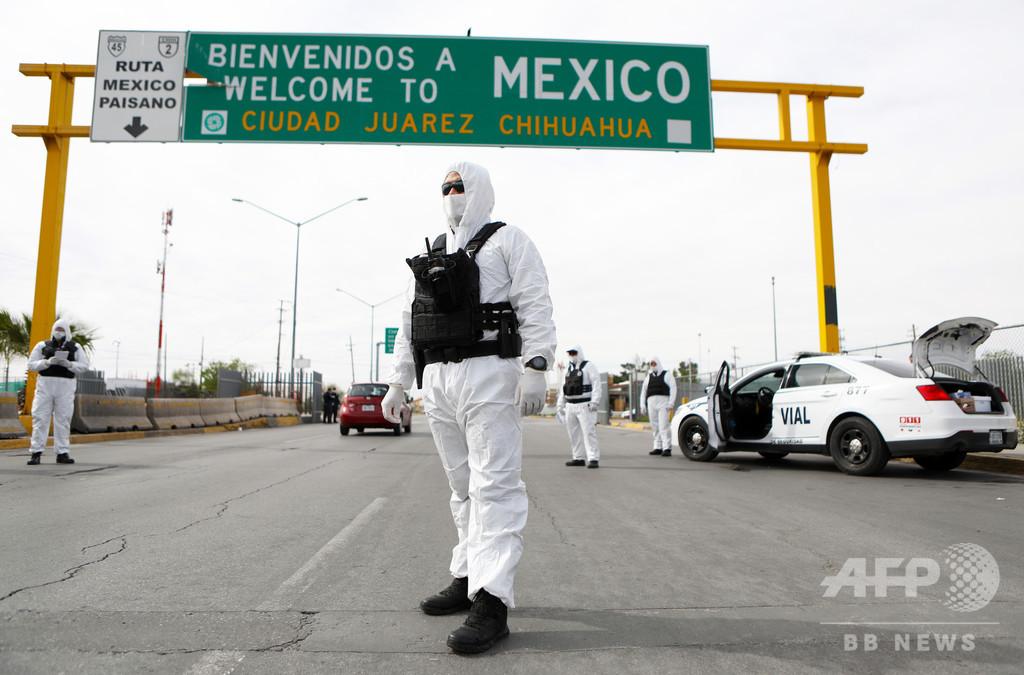 新型コロナ恐れた移民らが暴動、1人死亡 メキシコの収容施設