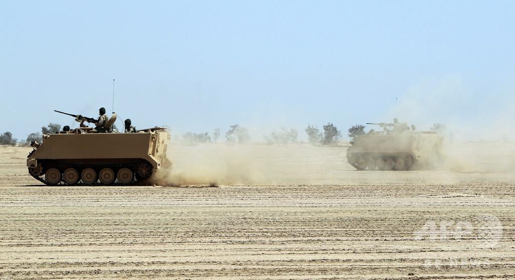 外国軍部隊駐留のイラク軍基地にロケット弾攻撃、1週間で3度目