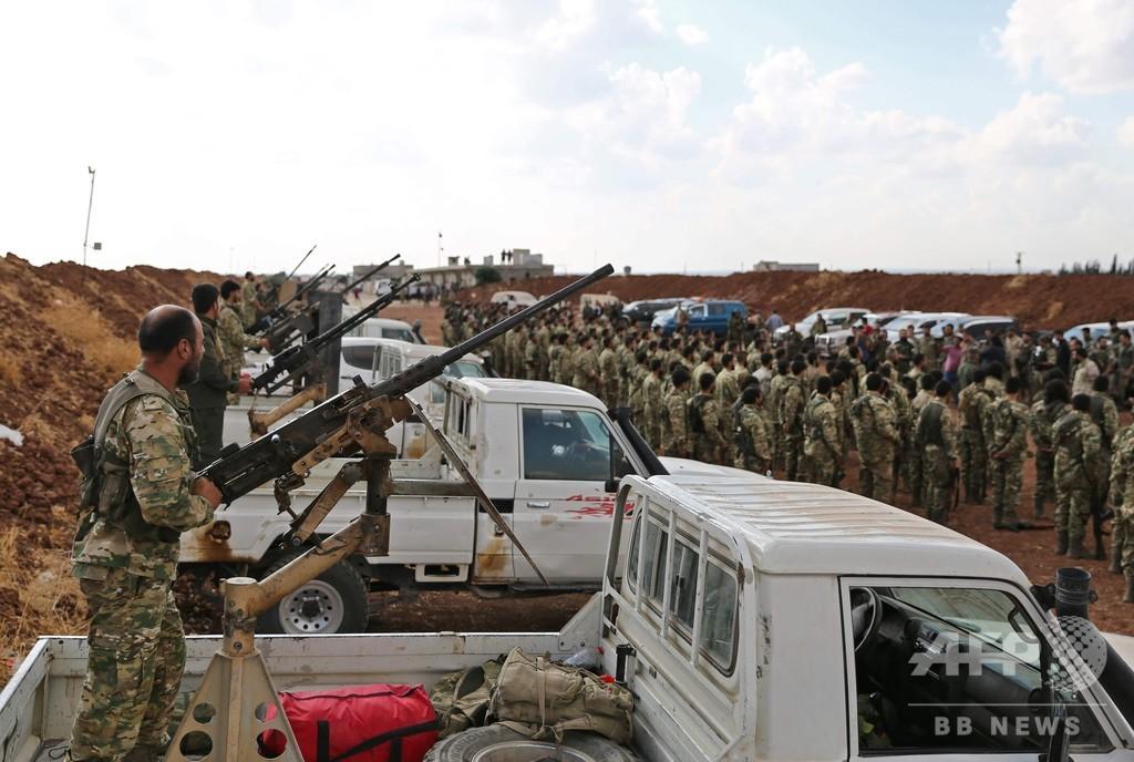シリアからの完全撤兵を否定、米政権高官