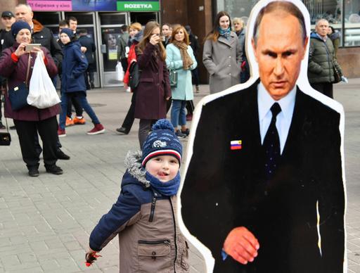 プーチン氏、ロシア人とウクライナ人に「共通の国籍を」