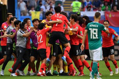 王者ドイツがまさかの敗退、韓国は終盤の2点で初白星
