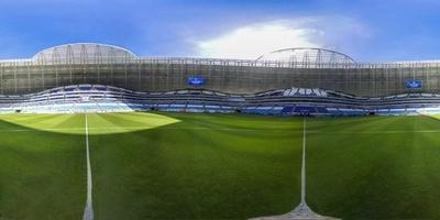 【360°パノラマ写真】ロシアW杯の会場、サマラ・アリーナ