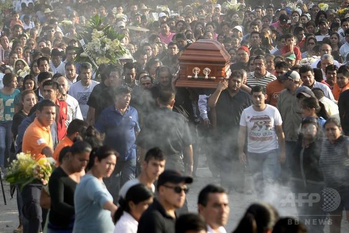 就任翌日に殺害された市長、家族守って犠牲に メキシコ