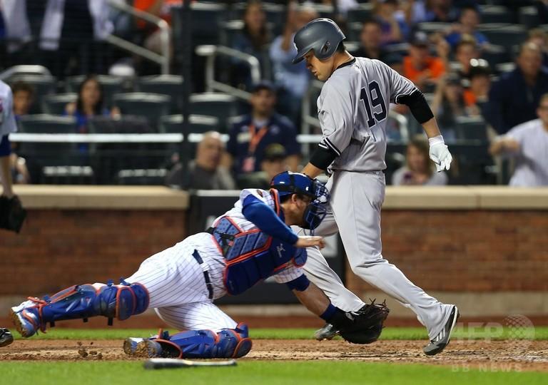 ヤンキース田中がDL入り、メジャー初得点も走塁で負傷
