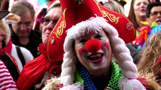 動画:ドイツのケルンカーニバル、華やかに開幕