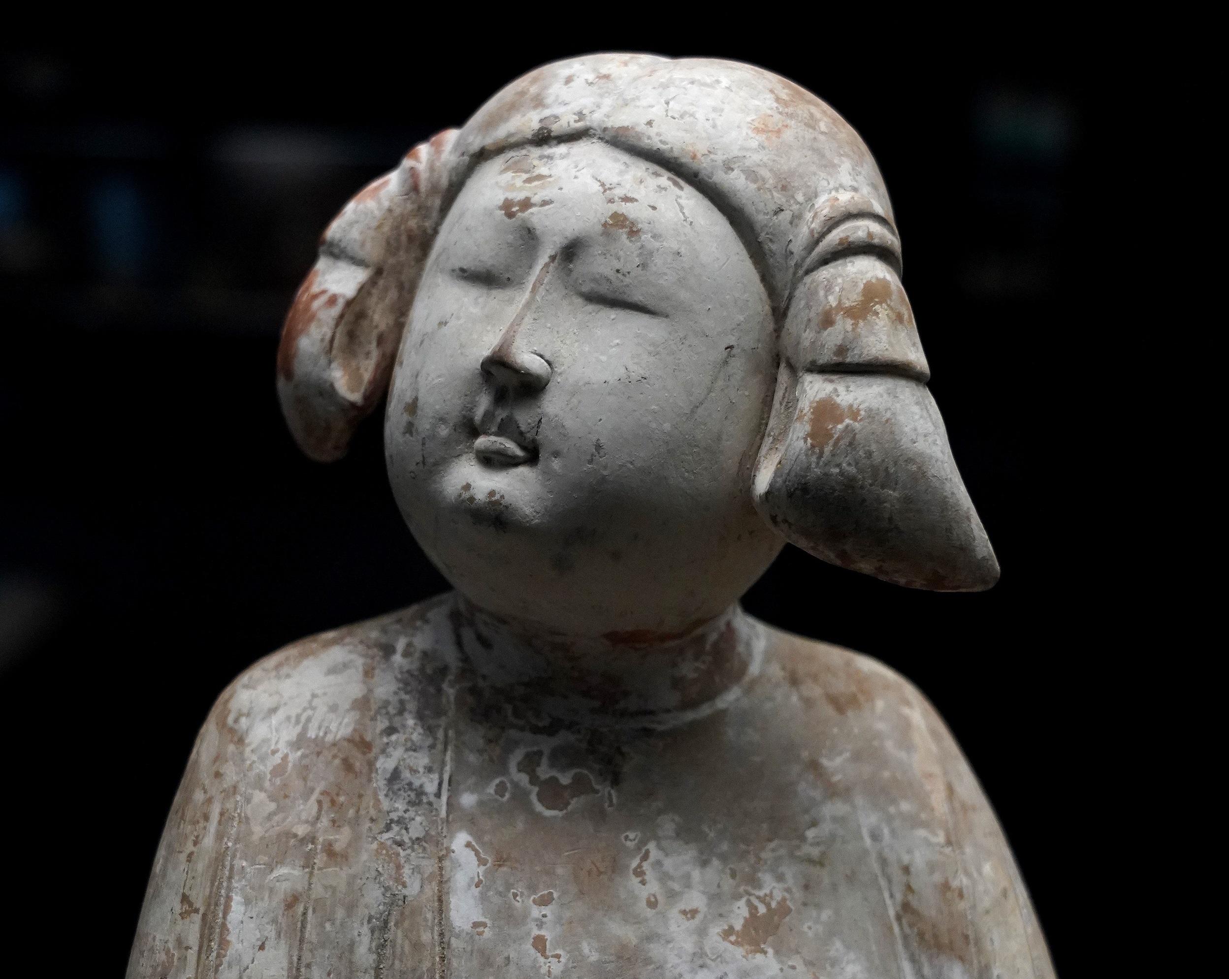 個性的なヘアスタイルの唐代女性俑を多数所蔵 西安博物院を訪ねて