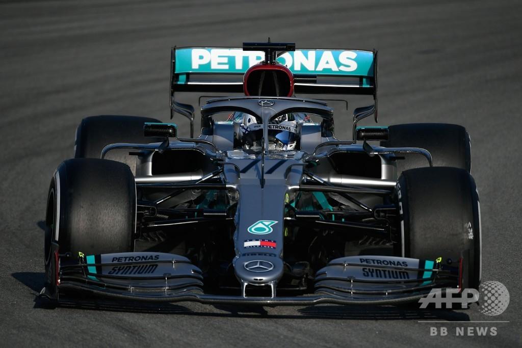 DASで優位に立つメルセデス、ボッタスが最速タイムでテスト終了