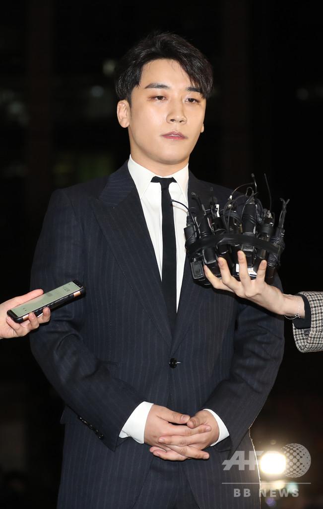 BIGBANGのV.Iが引退表明、性的サービスあっせん疑惑の渦中