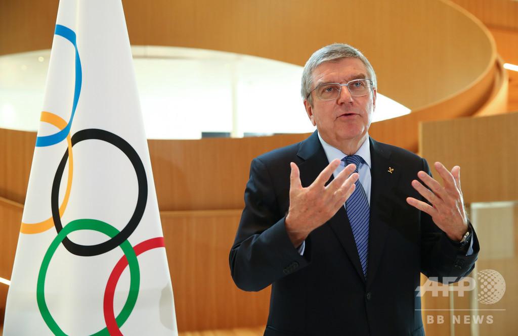 2021年は東京五輪「最後の選択肢」、IOC会長
