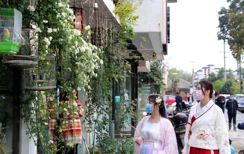 コロナ対策は万全、いにしえの「平江路古街」に活気戻る 中国・蘇州市