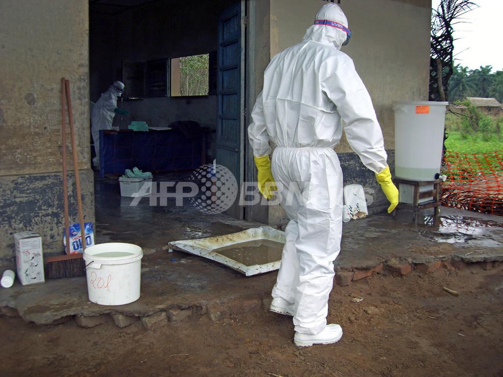 コンゴ(旧ザイール)で広まるエボラウィルス