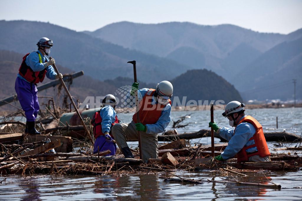 福島第1原発の汚染水流出減らず、大規模不明者・遺体捜索終了
