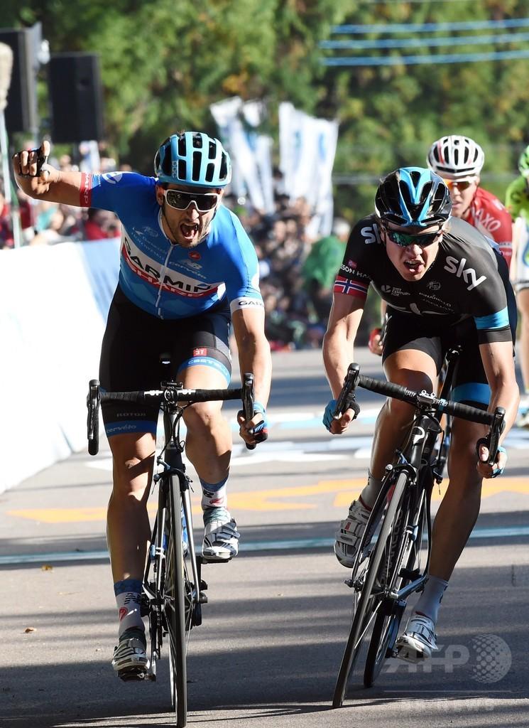 ハースが優勝、ジャパンカップサイクルロードレース