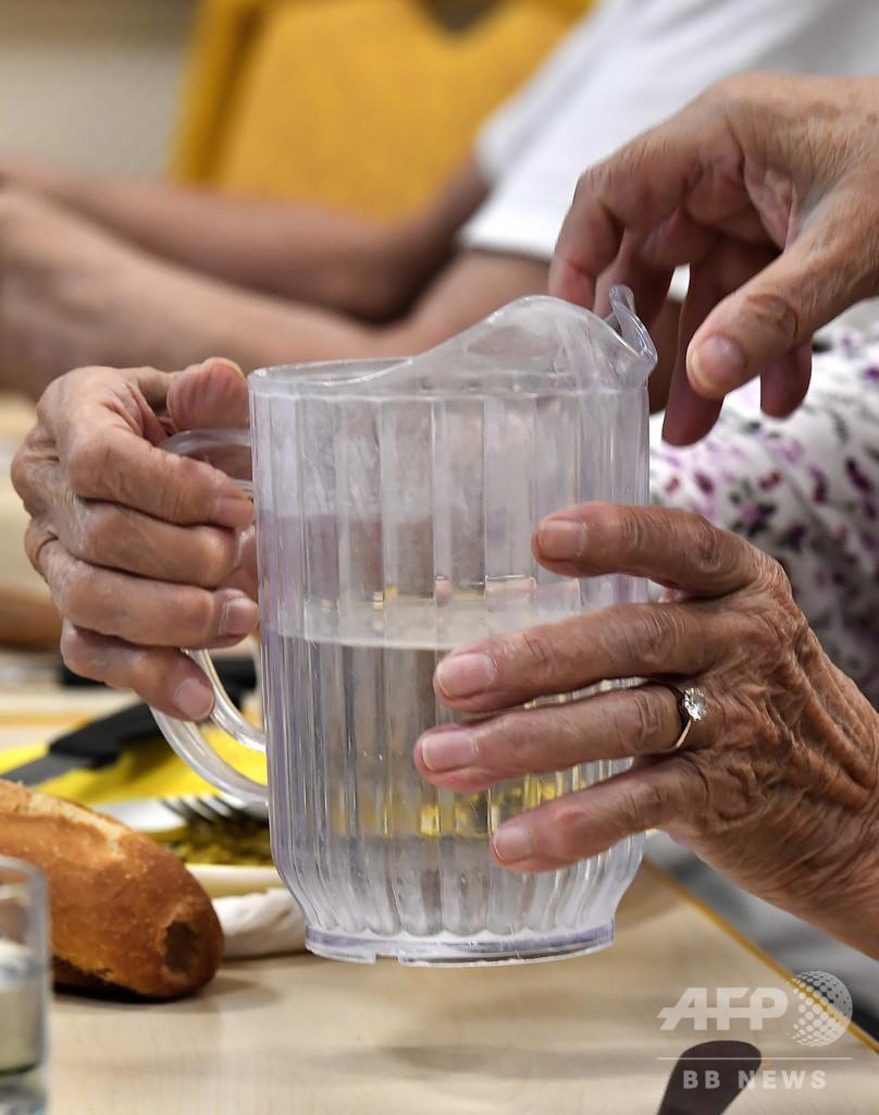 「水で守る健康」