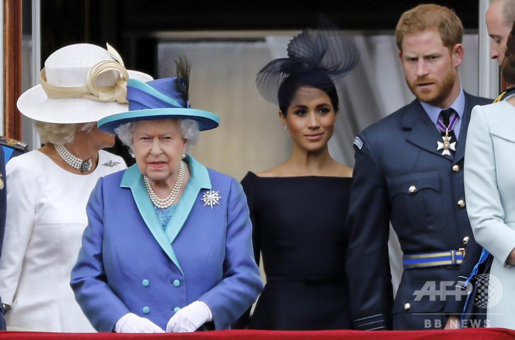エリザベス英女王、ヘンリー王子らと13日に会合 危機打開目指す