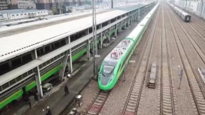 動画:最新の「復興号」が上海に 春節期間中に導入