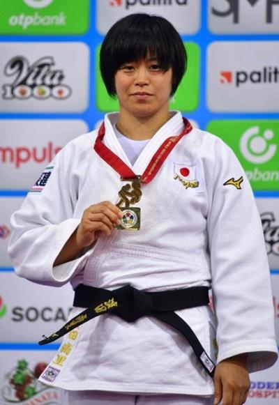 浜田が女子78キロ級で金、ウルフは連覇逃す 世界柔道選手権