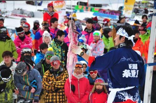 「HAKUBA VALLEY+糸魚川Sea シーフードシャトルバス周知イベント in 白馬岩岳スノーフィールド」2017年1月15日(日)開催