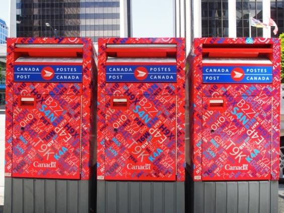 「カナダに手紙送らないで!」 従業員ストで郵便公社が要請