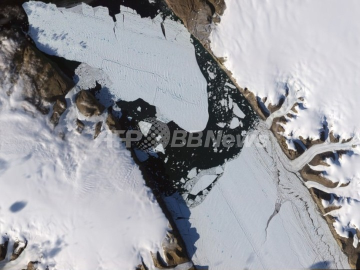 権威ある地図帳のグリーンランド氷床縮小に専門家が反論