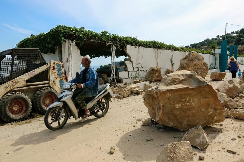 エーゲ海でM6.3の地震、ギリシャの島で1人死亡10人負傷