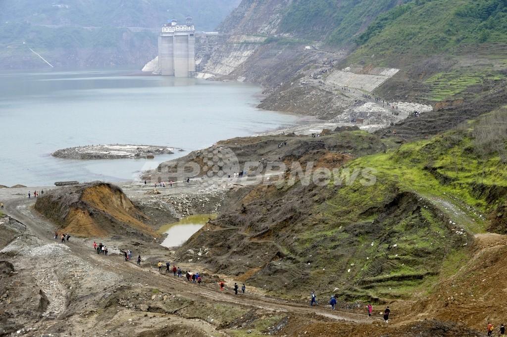 中国・四川大地震はダムが原因の可能性、科学者らが指摘