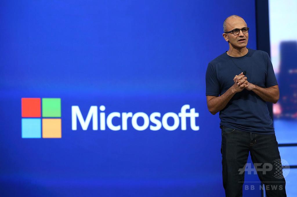 マイクロソフトのナデラCEO、昨年度の報酬は90億円