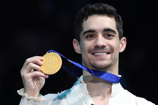 引退のフェルナンデス有終の美、フィギュア欧州選手権7連覇