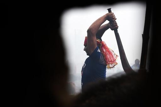 世界最大のいけにえ祭り、ネパールで開幕 前回は動物20万頭が犠牲に