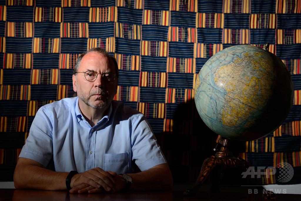 エボラ熱、ウイルスの発見者は「大流行の可能性低い」