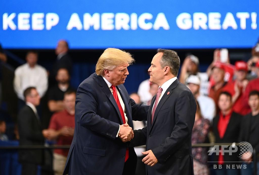 米地方選、南部2州で民主党が勝利 トランプ氏に打撃