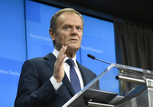 ブレグジットに最長1年の猶予、EU大統領が提案へ