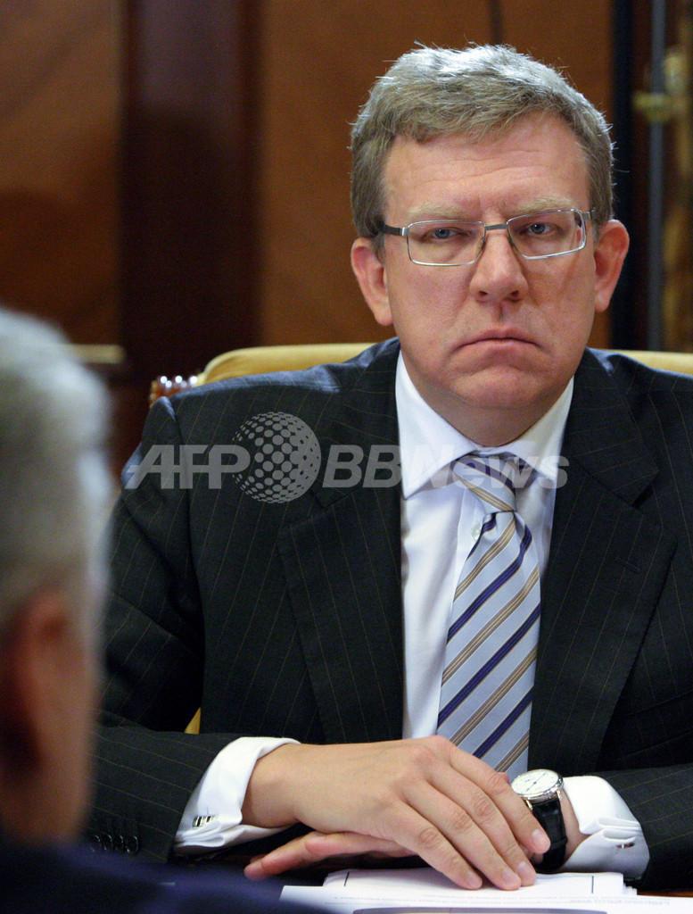 ロシア財務相、「メドベージェフ氏が首相就任なら辞任」