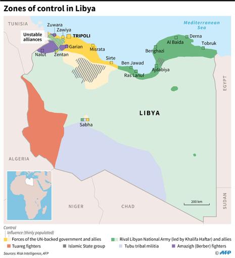 リビア南部で警察署襲撃、9人死亡 ISの犯行か