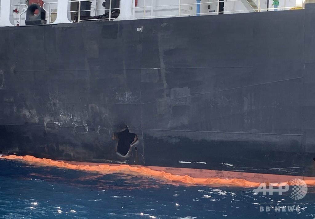 イラン製に酷似した機雷 タンカー攻撃で米海軍が見解