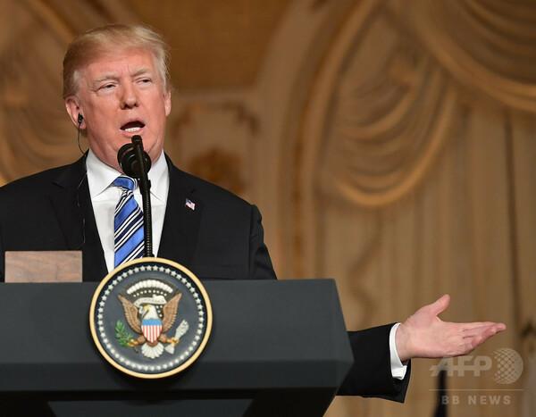 トランプ大統領、米朝会談に期待も有益でないなら「立ち去る」