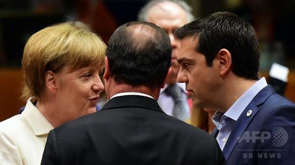 ユーロ圏、ギリシャに厳しい救済条件、独仏の対立あらわに